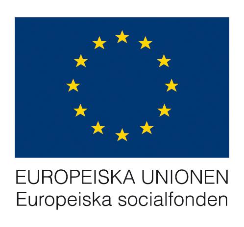 Finansierat av Europeiska socialfonden.